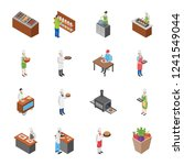 this is flat icon design of... | Shutterstock .eps vector #1241549044