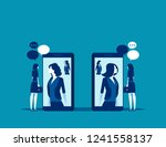 business people meeting with...   Shutterstock .eps vector #1241558137