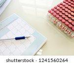vaccines for many bottles... | Shutterstock . vector #1241560264