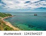 taiwan seashore landscape | Shutterstock . vector #1241564227