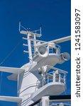 cruis ship close up of ship...   Shutterstock . vector #1241583097