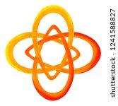 orange color of chakra symbol... | Shutterstock . vector #1241588827
