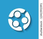 teamwork people meeting. vector ... | Shutterstock .eps vector #1241592391
