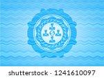 business teamwork and money...   Shutterstock .eps vector #1241610097