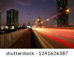 motion light speed car on... | Shutterstock . vector #1241626387