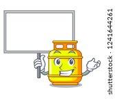 bring board flammable gas tank... | Shutterstock .eps vector #1241644261