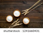homemade fresh bread and pasta... | Shutterstock . vector #1241660431