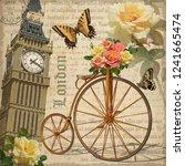 Vintage Postcard London With...