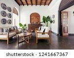 contemporary hotel hall...   Shutterstock . vector #1241667367