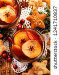 christmas compote from dried... | Shutterstock . vector #1241710837