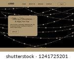 christmas lights  vector...