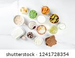super healthy probiotic... | Shutterstock . vector #1241728354