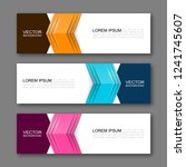 vector graphic design banner... | Shutterstock .eps vector #1241745607