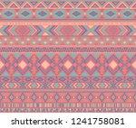 peruvian american indian... | Shutterstock .eps vector #1241758081
