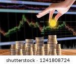 interest investment ideas ...   Shutterstock . vector #1241808724