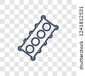 car cylinder head icon. trendy... | Shutterstock .eps vector #1241812531