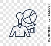 business skills icon. trendy... | Shutterstock .eps vector #1241820094