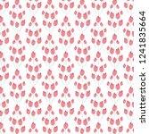 cute floral vector seamless...   Shutterstock .eps vector #1241835664