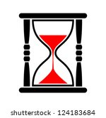 hourglass icon   Shutterstock .eps vector #124183684