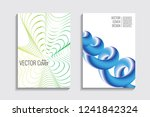 blended covers with gradient... | Shutterstock .eps vector #1241842324