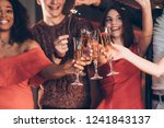 champagne is an integral part.... | Shutterstock . vector #1241843137