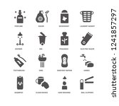 nail clippers  bin  perfume ...   Shutterstock .eps vector #1241857297