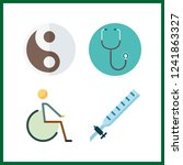 4 therapy icon. vector...   Shutterstock .eps vector #1241863327