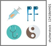 4 therapy icon. vector...   Shutterstock .eps vector #1241864401