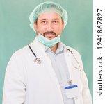 happy young doctor | Shutterstock . vector #1241867827