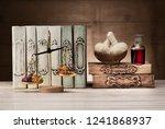 herbal medicine concept. body... | Shutterstock . vector #1241868937