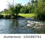 the ticinazzo artificial canal... | Shutterstock . vector #1241882761