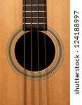 acoustic bass guitar | Shutterstock . vector #124188997
