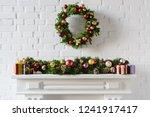 Christmas Wreath And...