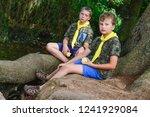 drahnovice  czech republic  ... | Shutterstock . vector #1241929084