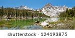 Idyllic Mountain Lake In The...