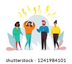 business people group... | Shutterstock .eps vector #1241984101