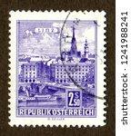 austria stamp no circa date  a... | Shutterstock . vector #1241988241