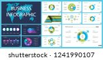 business inforgraphic design... | Shutterstock .eps vector #1241990107