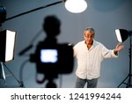actor in front on the camera in ...   Shutterstock . vector #1241994244