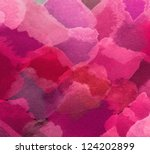 watercolor colorful background | Shutterstock . vector #124202899