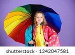 waterproof accessories make... | Shutterstock . vector #1242047581