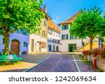 View Of A Narrow Street In The...