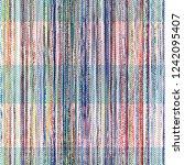 woven seamless texture. pink... | Shutterstock .eps vector #1242095407