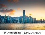 hong kong   november 6  2018 ... | Shutterstock . vector #1242097807