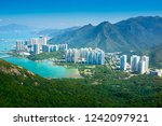 view from ngong ping 360 cable... | Shutterstock . vector #1242097921