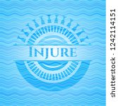 injure water concept style... | Shutterstock .eps vector #1242114151