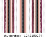 traditional folk sadu arabian... | Shutterstock .eps vector #1242150274