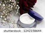face cream in the jar | Shutterstock . vector #1242158644