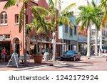 fort myers  usa   april 29 ... | Shutterstock . vector #1242172924