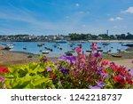 sainte marine  brittany  france ... | Shutterstock . vector #1242218737